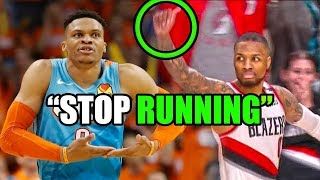 What You DON'T Know About The Lillard & Westbrook NBA Rivalry (Ft. Playoffs, Trash Talk, & The Shot)
