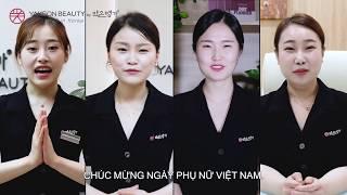 Viện trưởng Yakson Beauty gửi lời chúc mừng ngày Phụ nữ Việt Nam
