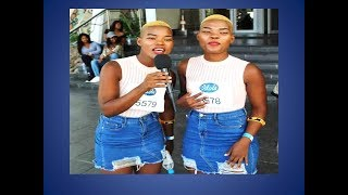 Idols SA Twins Viggy and Virginia Are Taking Over. We see Top 16 Till The End With The Qwabe Twins.