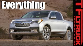 2017 Honda Ridgeline: Everything You Ever Wanted to Know