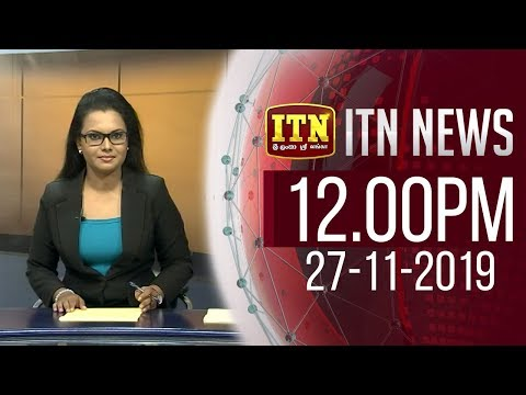 ITN News 2019-11-27   12.00 PM