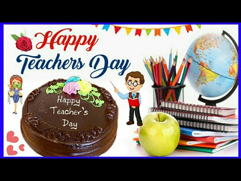 Happy quotes - Happy Teacher's Day 2018  Teacher's Day QuotesWishesGreetingsSMSImages  WhatsApp Status Video