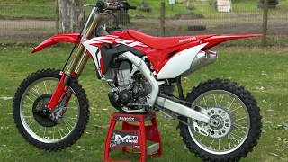 8. MXTV Bike Review - Honda 2018 CRF450R
