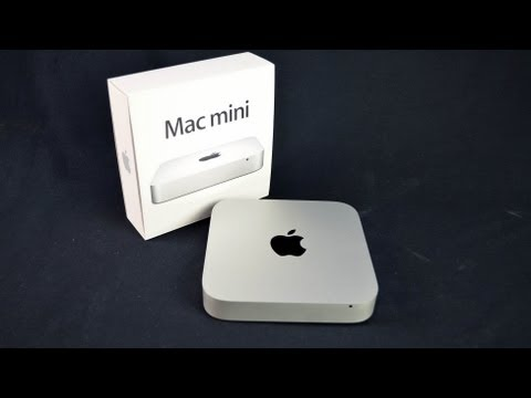 Mac Mini - Unboxing and demo of the new Mac mini for 2012 which adds Intel Ivy Bridge Processors, 4GBs of RAM, and 4 USB 3.0 ports. $599 Amazon: http://amzn.to/SbiLKP A...