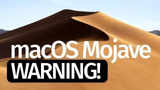 Macos Mojave 10 14   Warning  Do Not Update  Macbook Imac Macbook Air Macbook Pro