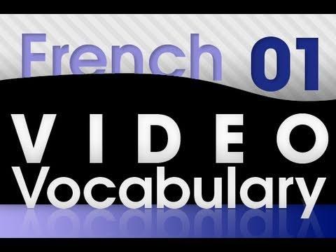 Französisch lernen - Video Vokabeln #1