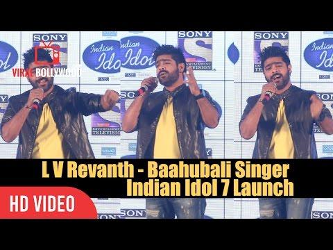 LV Revanth Baahubali Singer Indian Idol 7 Launch