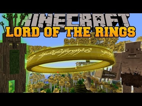 Minecraft: lord of the rings mod (become good or evil, choose your