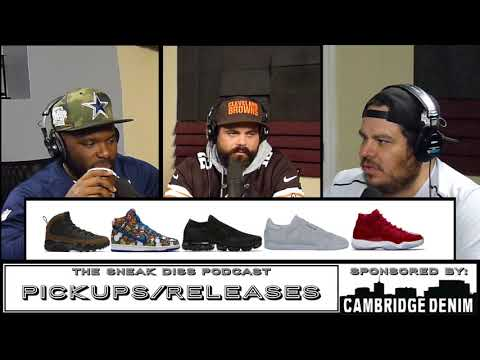 The Sneak Diss Podcast Episode 88 - Yeezy Desert Rat, Jordan 11, Herm Edwards