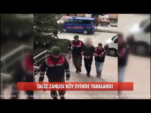 Taciz zanlısı köy evinde kıskıvrak yakalandı
