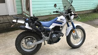 7. TW 200 is the best Dual Sport EVER!! Walk around and circle wheelies