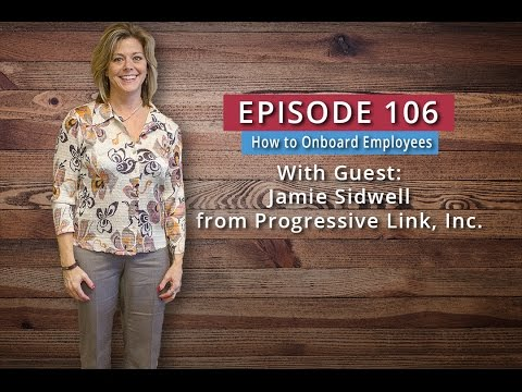 Watch '106: How to Onboard Employees (Jamie Sidwell) - YouTube'