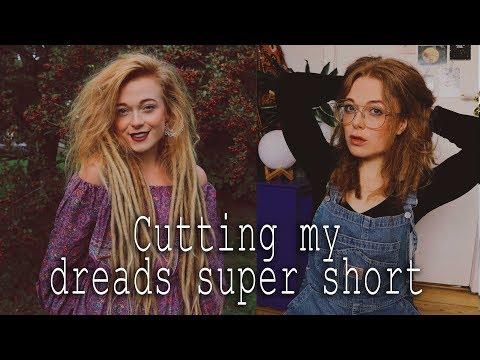 Cutting my dreadlocks super duper short