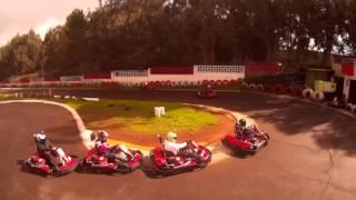 karting Racing - Flight Drone (Carrera de karting - Drone en Vuelo)