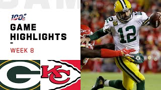 Packers vs. Chiefs Week 8 Highlights | NFL 2019