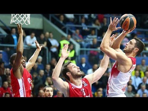 Highlights: RS Round 6, Cedevita Zagreb 70-83 Olympiacos Piraeus