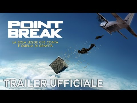 Preview Trailer Point Break, trailer italiano