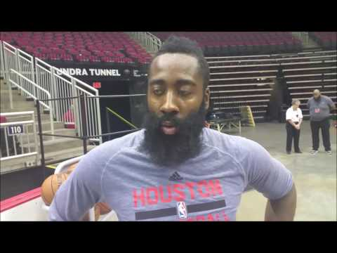 James Harden on being the Rockets' 'point guard'