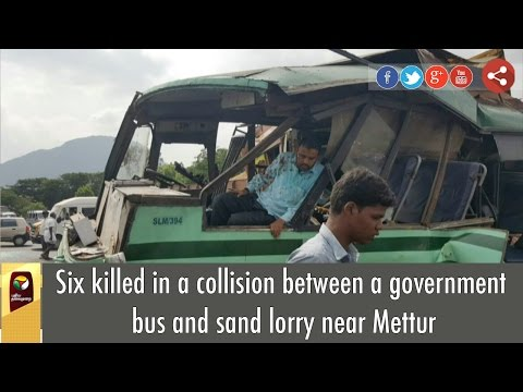 Six-killed-in-a-collision-between-a-government-bus-and-sand-lorry-at-Salem