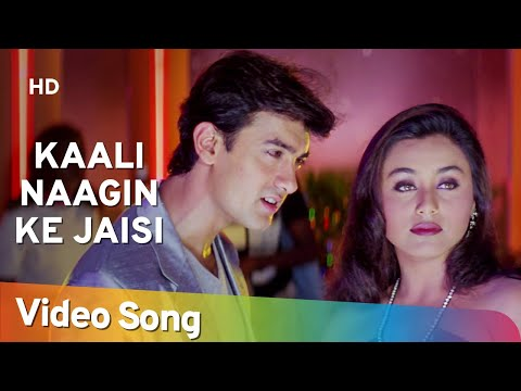Kaali Naagin Ke Jaisi | Mann(1999) | Aamir Khan | Manisha Koirala | Sanjeev Darshan | Bollywood Song