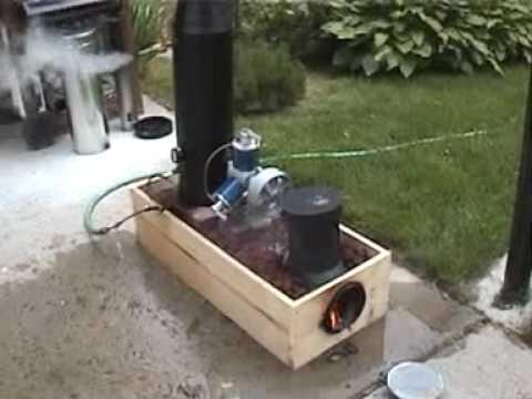 Lynx Rocket Stove Monotube Steam Boiler