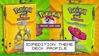 Pokémon Cards - Expedition Base Set Echo and Electric Garden Theme Deck Profiles! by The Pokémon Evolutionaries