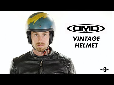 DMD Vintage Open Face Motorcycle helmet review