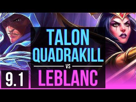 Watch Talon destroy LeBlanc in...
