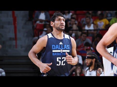 Highlights: Satnam Singh's 2015 NBA Summer League w/ Dallas Mavericks