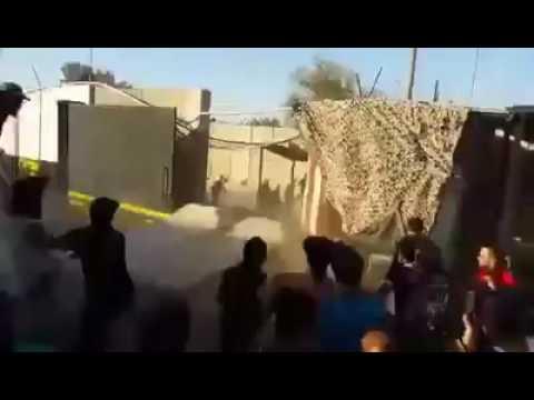 """فيديو """"مباشر العراق الان """"بغداد اسوار الظالمين تسقط غظبا """""""