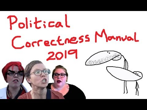 Political Correctness Manual 2019 - Things You Can't Say