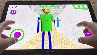 Baldi's Basics in Education and Learning: ANDROID Edition [GARGANTUAN TABLET]