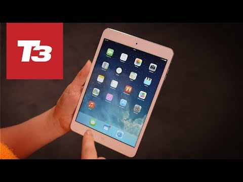 iPad Mini Retina hands-on video