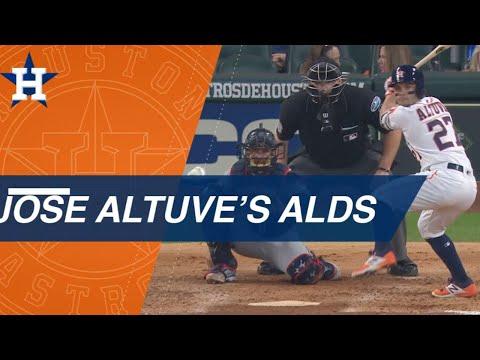 Video: Best of Jose Altuve's 2018 ALDS vs. the Indians