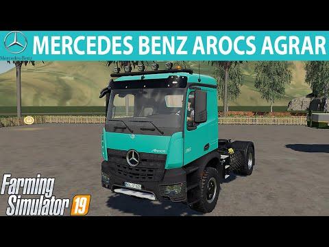 MERCEDES BENZ AROCS AGRAR v6.0