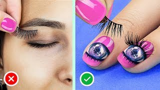 Video 16 Nail Hacks And Designs Every Girl Should Try MP3, 3GP, MP4, WEBM, AVI, FLV Juli 2019