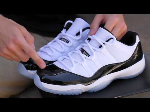 Did you get the Jordan 11 Concord Low?!