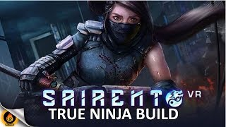 RageMasters well practiced Ninja Onslaught continues in Sairento VR, the awesome ninja-action game. Exploring the new throwing weapons added in the most recent update, oVRactive's frontman engages the enemy ninja clan across both new stages on skilled difficulty using ninja agility,  katana, kunai and shuriken throwing stars in Virtual Reality.