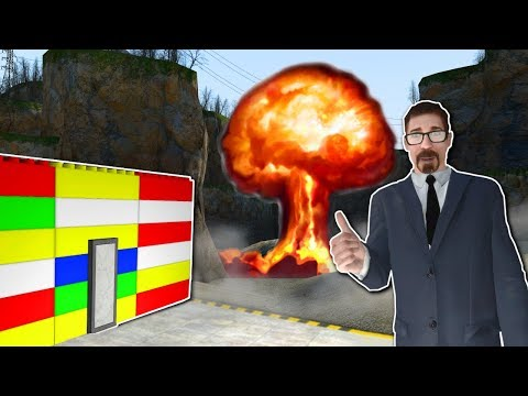 Garrys Mod - NUKE SURVIVAL in LEGO BASE? - Garry's Mod Gameplay - Gmod Nuke Survival Roleplay