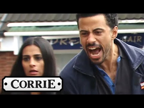 Coronation Street - Luke Single-Handedly Beats Up Two Disgusting Racists!