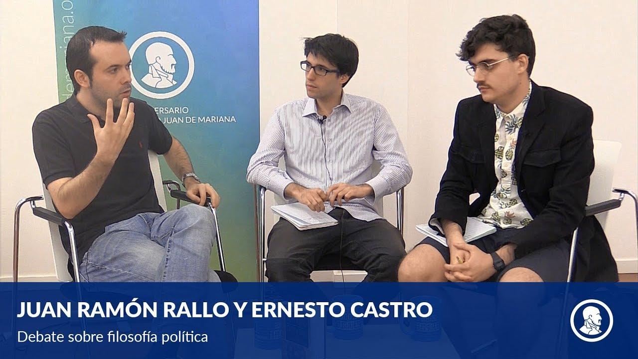 Debate con Ernesto Castro sobre la renta básica