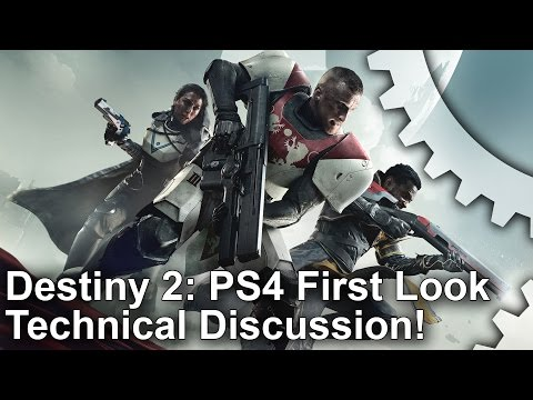 Destiny 2 PS4 First Look   Frame-Rate Test!