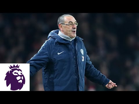 Video: Chelsea's Maurizio Sarri says his players are difficult to motivate | Premier League | NBC Sports