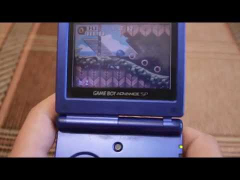 Обзор Game Boy Advance SP