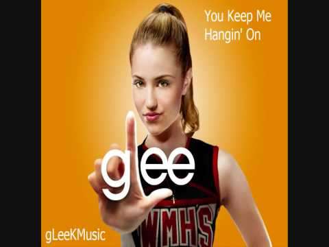 Tekst piosenki Glee Cast - You Keep Me Hanging On po polsku