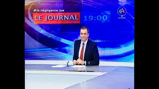 Journal d'Information 19H : 18-03-2020 Canal Algérie