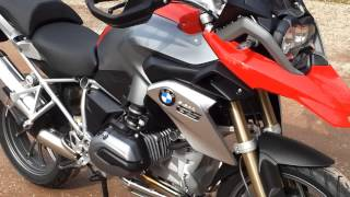 9. BMW R1200GS LC model 2013 Review