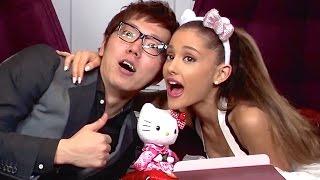 アリアナ・グランデさんにヒカキンからプレゼント!2度目のコラボ!Ariana Grande × Hikakin!