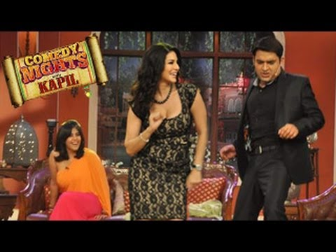 Sunny Leone's SEXY PERFORMANCE on Baby Doll Song in Comedy Nights with kapil 8th march 2014 EPISODE