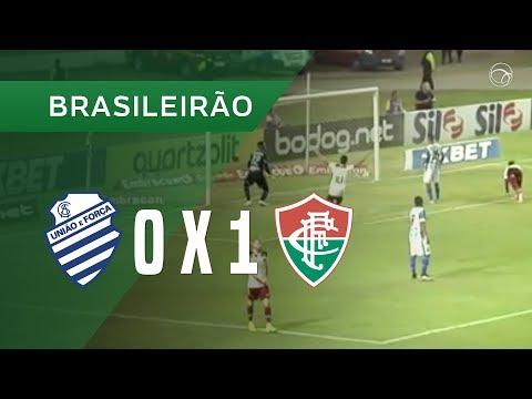 CSA 0-1 Fluminense (Campeonato Brasileiro 2019) (H...